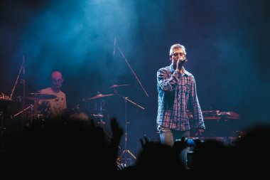 Matisyahu singing in Moscow