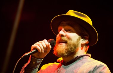 Alex Clare performing live in Moscow