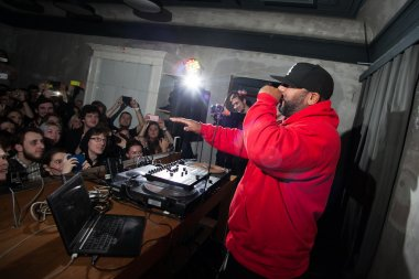 Apollo Brown in Moscow