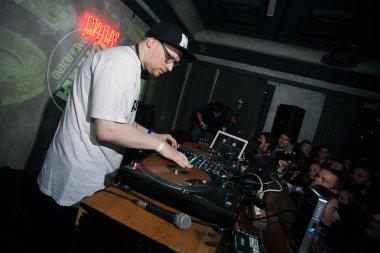 DJ NTone at Dewars Powerhouse