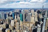 Fotografie panorama Manhattanu v New york city