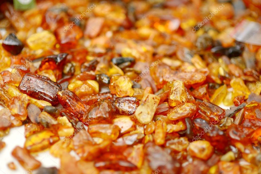 Amber stones