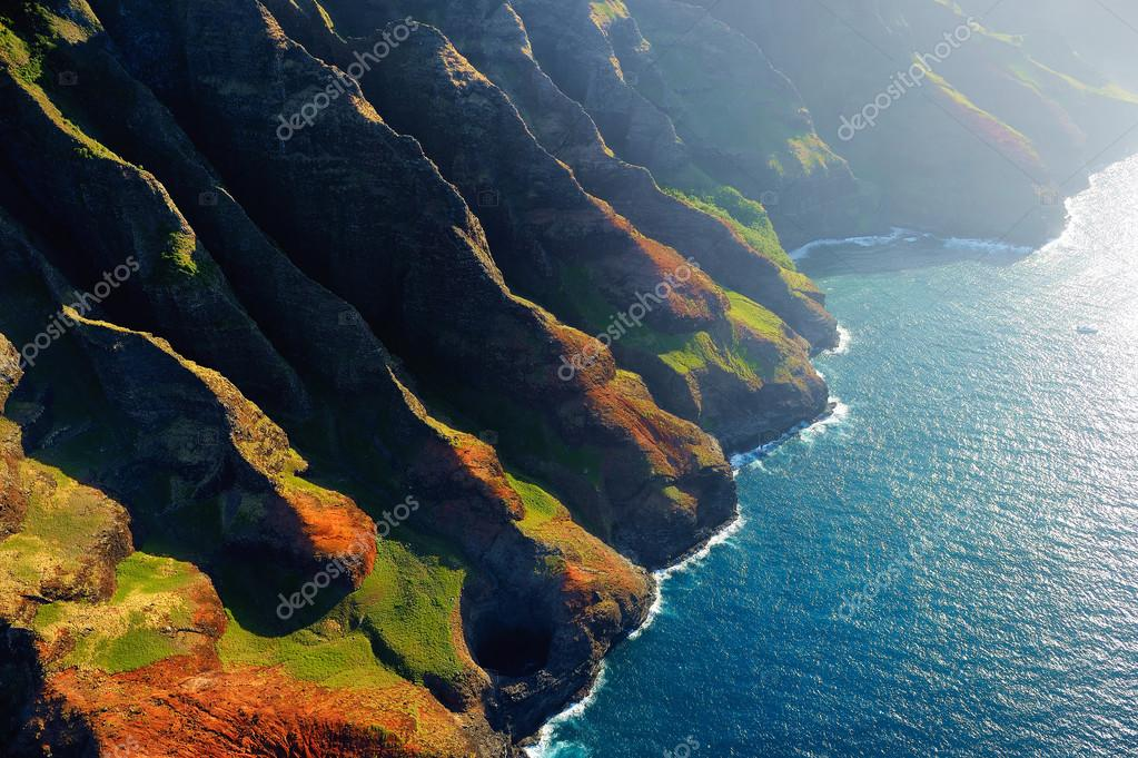 Spectacular Na Pali coast