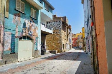 Murals wall paintings in  Sardinia, Italy