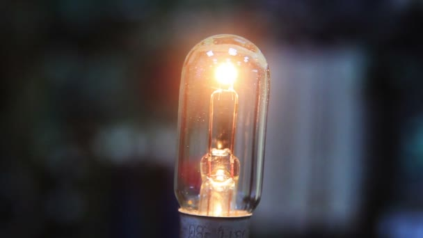 žárovka zapnutí a vypnutí