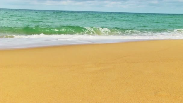 mořské vlny na pláži