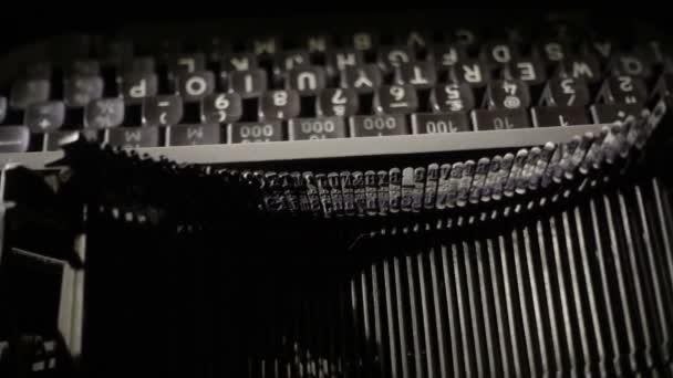 Closeup-Vintage-Schreibmaschine