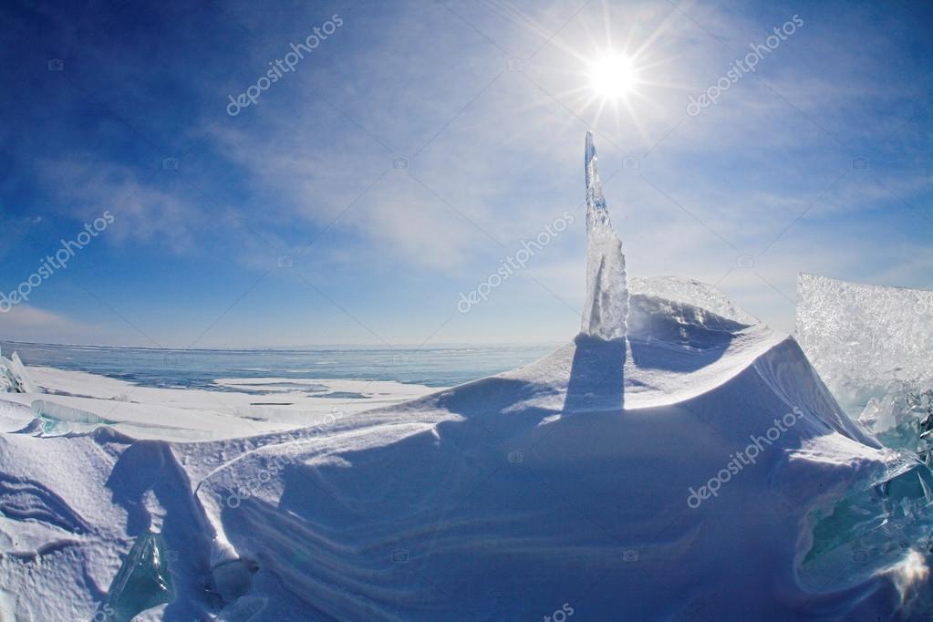 winter Baikal Ice
