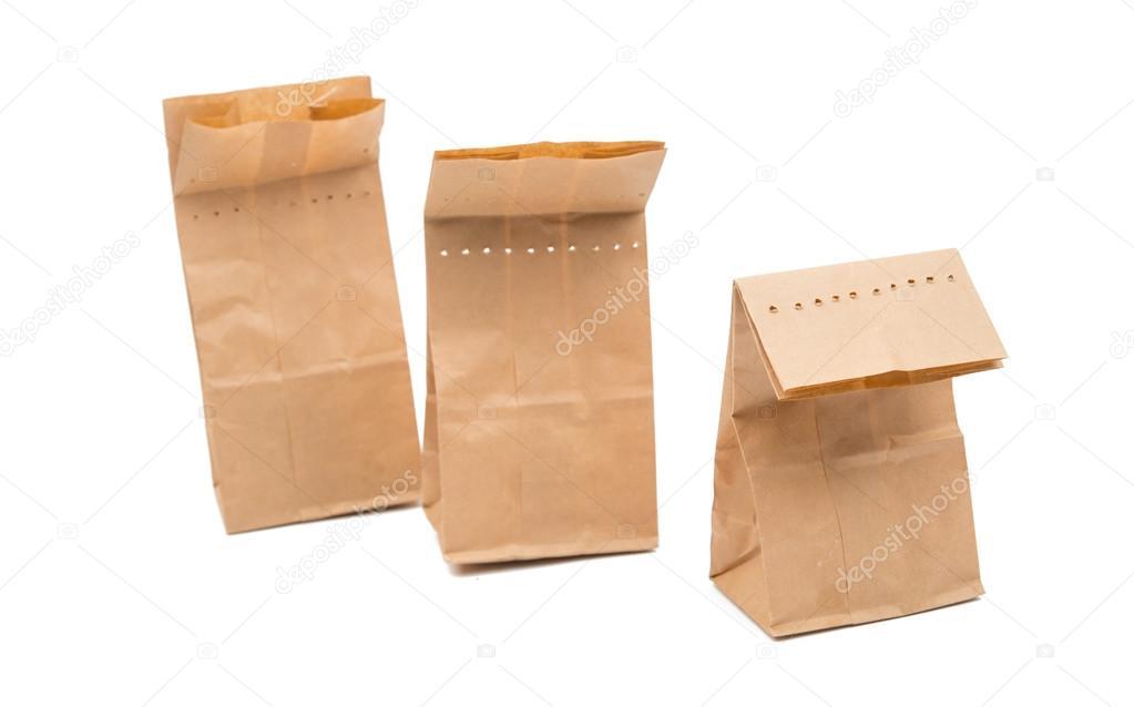 De Papieren Zak : Een papieren zak u stockfoto ksena