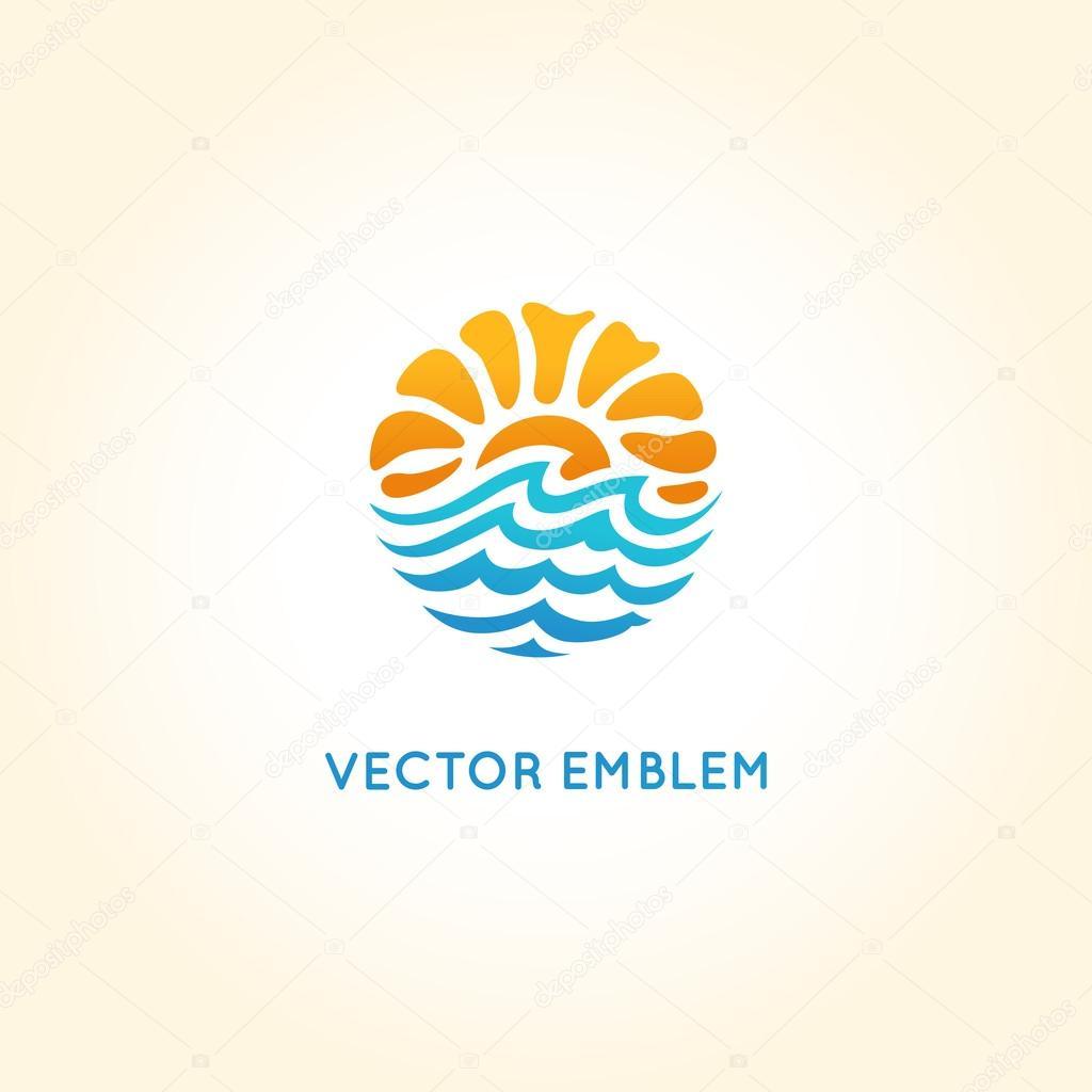 ベクトルの抽象的なロゴ デザイ...
