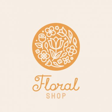 Vector simple and elegant logo design template