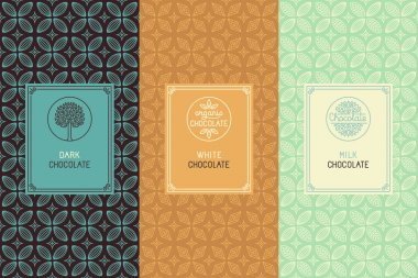 Chocolate packaging design elements