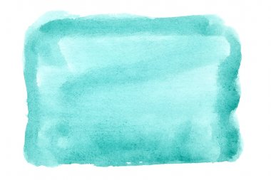 Green watercolor background - space for your own text stock vector