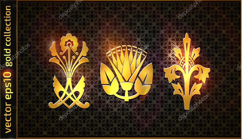 Couronne Doree Et Nom Des Armoiries Royales Image Vectorielle Designus C 112617306