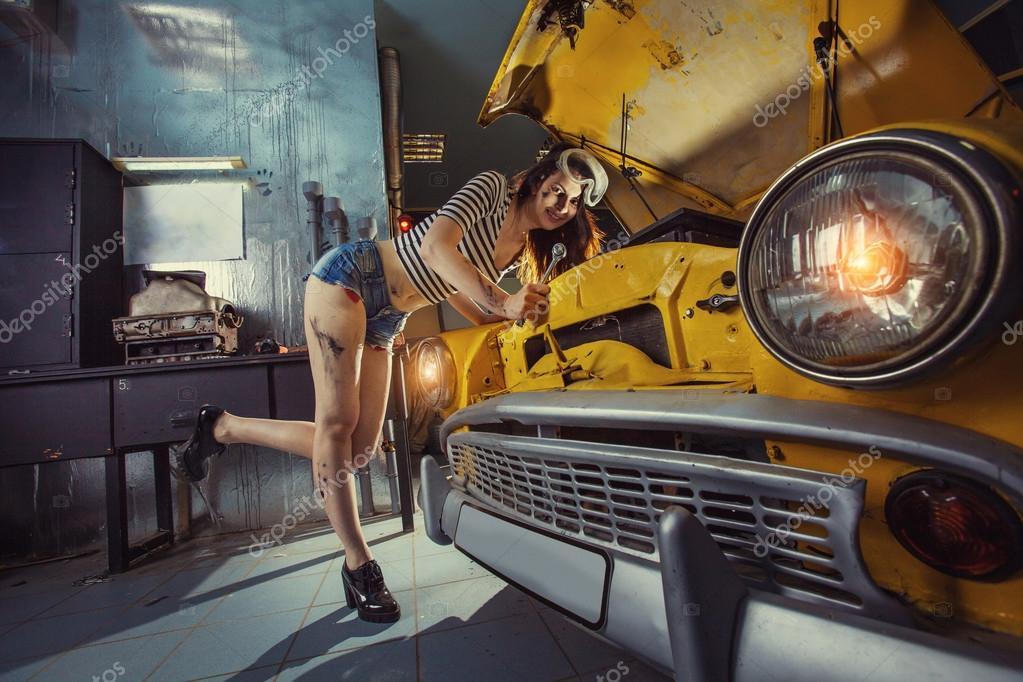 Car Mechanic Porn Pics