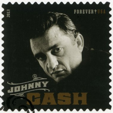 USA - 2013: shows J. R. Johnny Cash (1932-2003), series music icons forever
