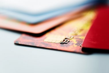 colorful Credit cards