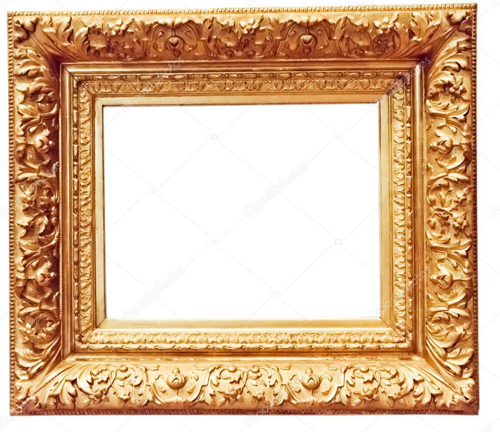 antiker goldener Rahmen — Stockfoto © valphoto #57723559