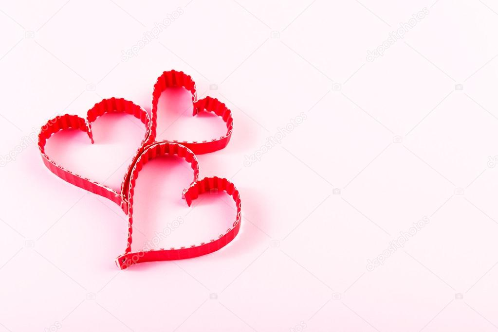 Paper Heart Shape Symbols Stock Photo Valphoto 60402183