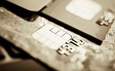 Credit cards background