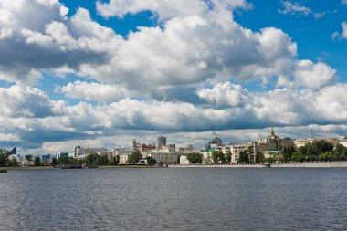 Yekaterinburg City embankment