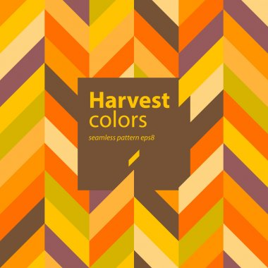 Autumn colors abstract seamless pattern background