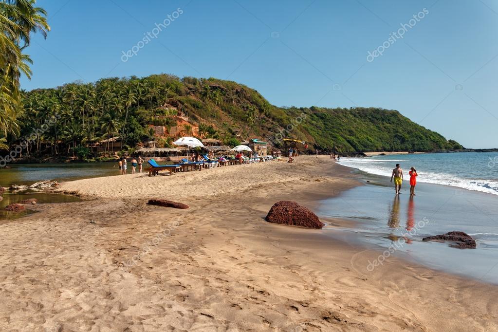 Индия пляж кола фото