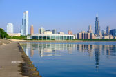 Skyline di Chicago mattino