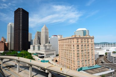skyline of Pittsburgh, Pennsylvania