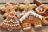 Karácsonyi házi mézeskalács sütik