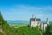 Fotografie das schloss neuschwanstein in deutschland