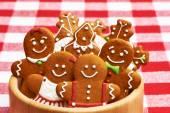 Vánoční perníkové koláčky