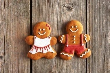 Christmas   couple cookies