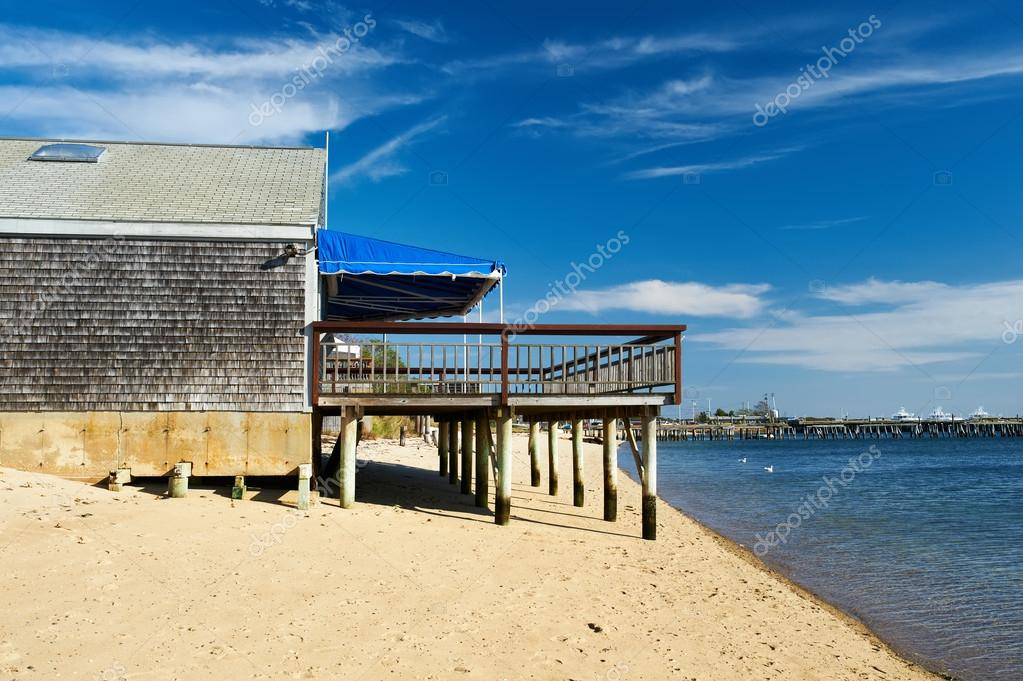 Beach house at Provincetown