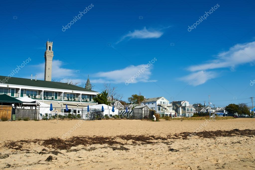 Beach at Provincetown in Cape Cod