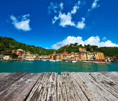 Portofino village in Italy