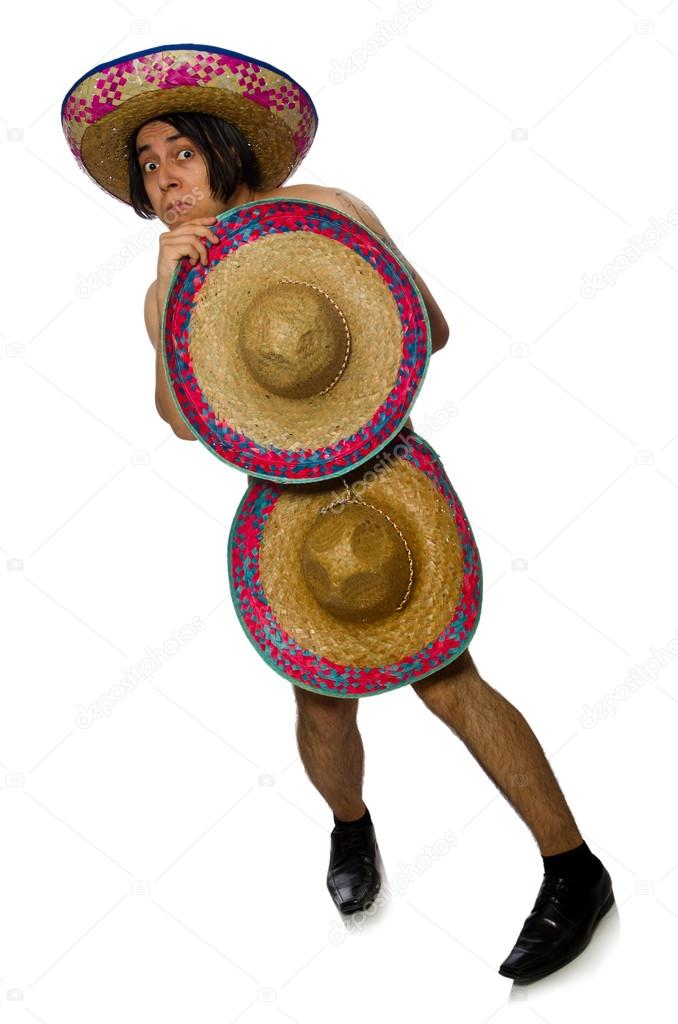 a naked mexican guy
