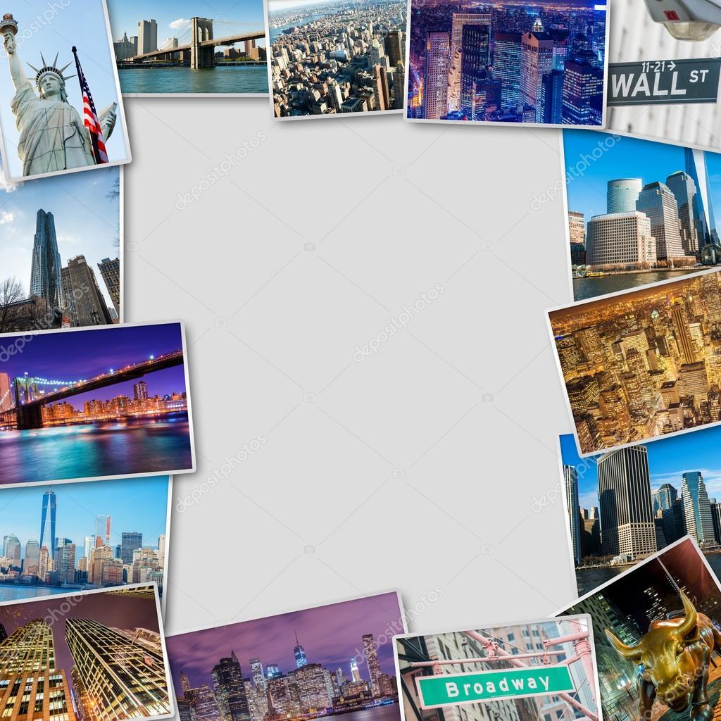 Fotos de Nueva York en marco — Foto editorial de stock © Elnur_ ...