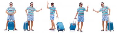 Man preparing for this summer vacation