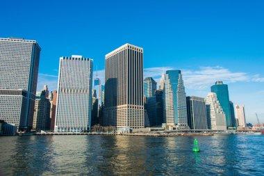 downtown Manhattan city