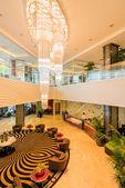 Photo Hotel lobby with modern design