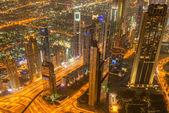 Fényképek Dubai night Panorama