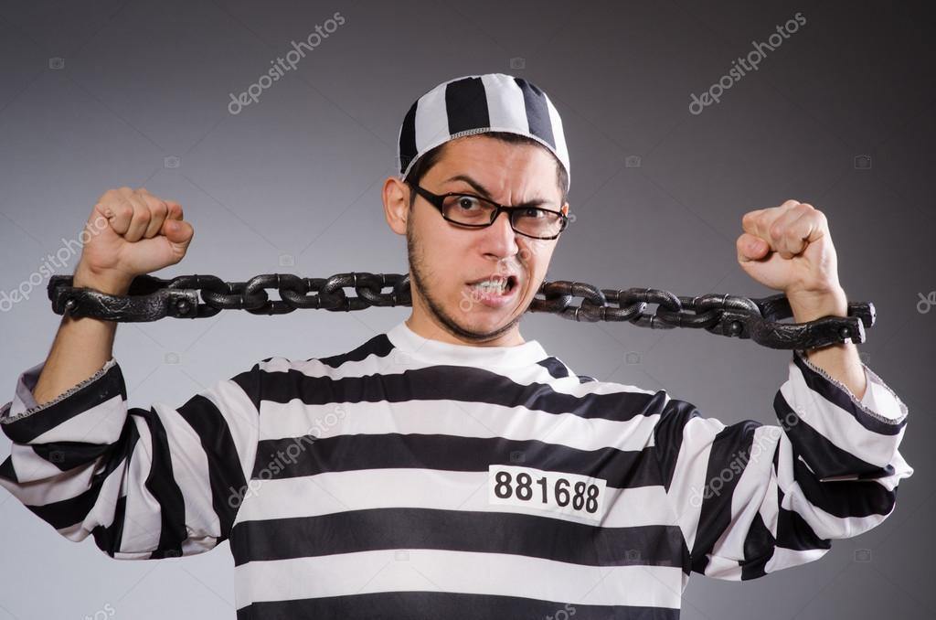 Unga fånge i kedjor — Stockfotografi © Elnur   83053744 77d0a71618fc1
