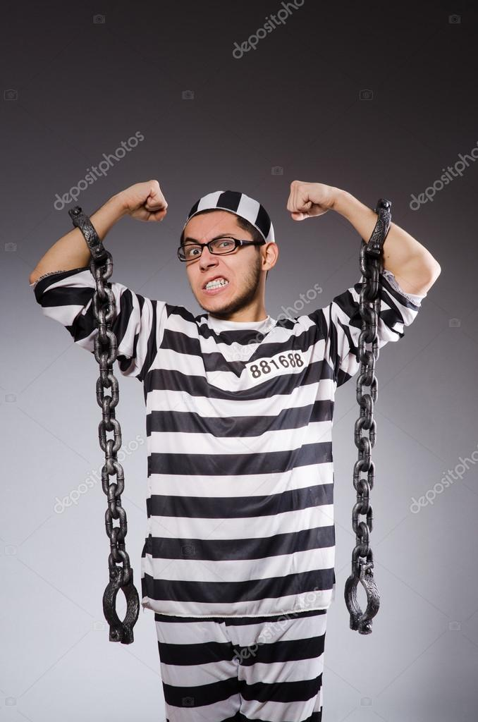 Young prisoner in chains — Stock Photo © Elnur   83739602 5b7512eb9f140