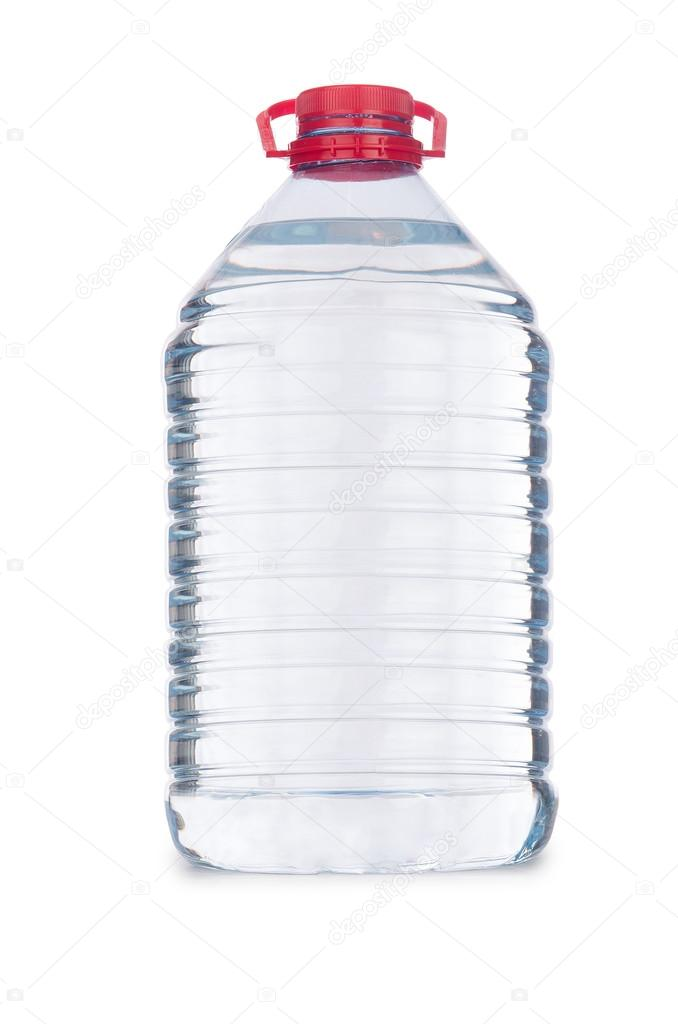 Бутылка с водой изолирована — Стоковое фото © Elnur_ #83740790