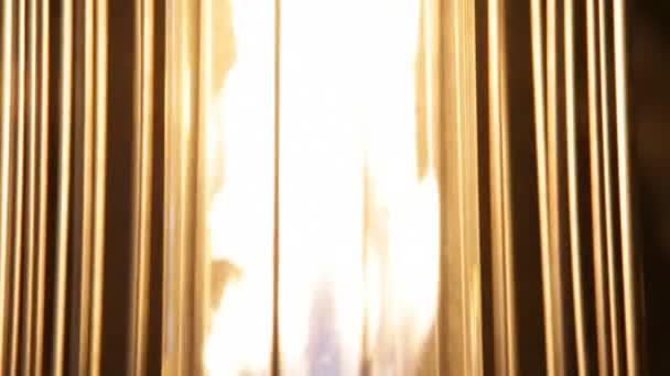 hořící plamen