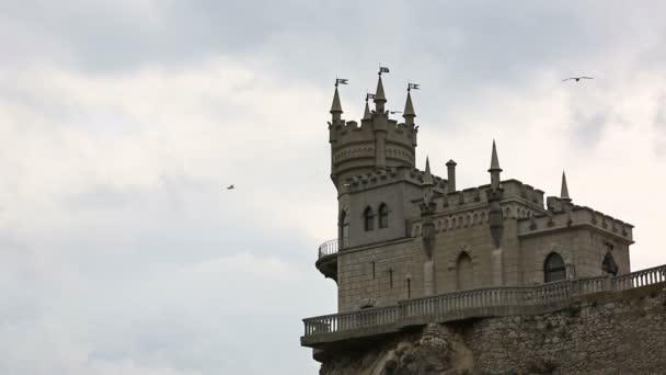 Castle vlaštovka hnízdo