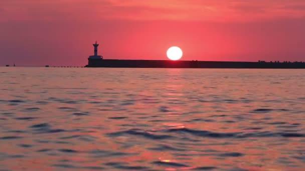 pozice při západu slunce, Sevastopol
