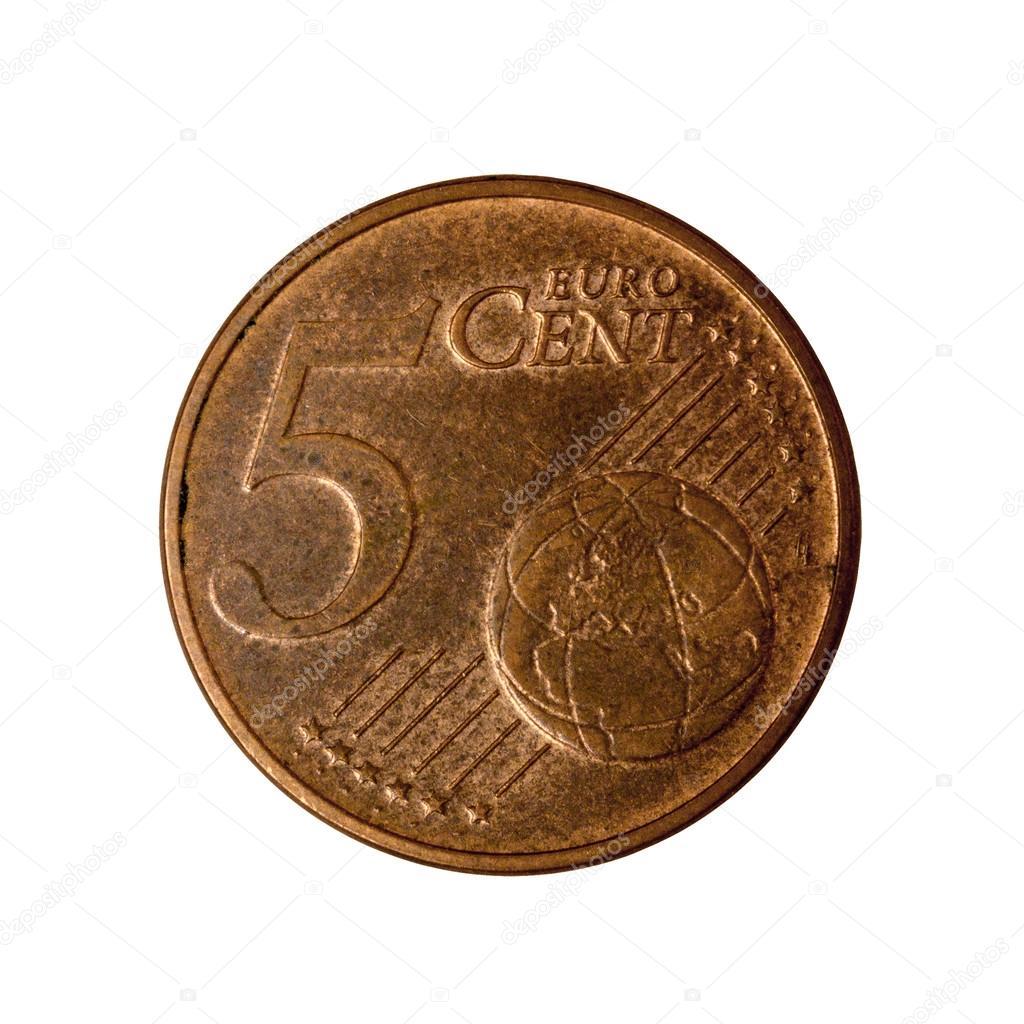 Fünf Cent Münze österreich Stockfoto Leonikonst 106754100
