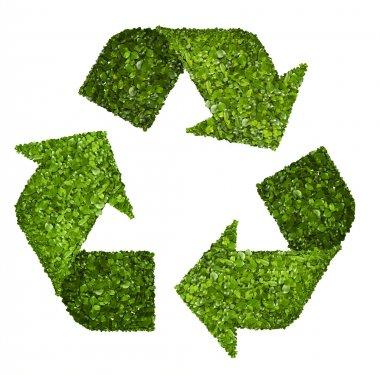 Recycling logo symbol